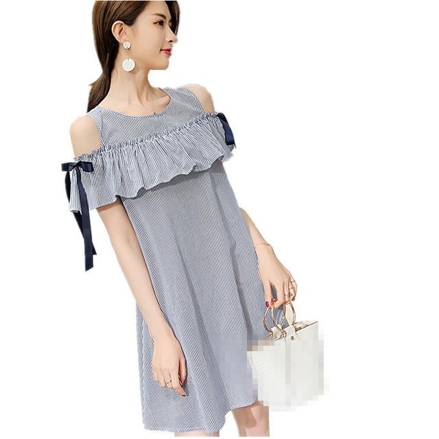 B2780 2019 Summer New Style Big Size Fashion Show Thin Korean