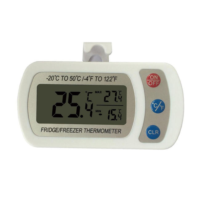 High-Precision Waterproof Electronic Thermometer Refrigerator Thermometer Maximum And Minimum Memory
