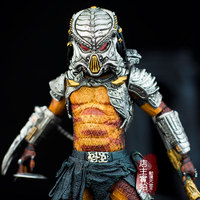 Predator VS Alien Viper Predator Elder predator Cracked Tusk predator Alien Hunter Series Action Figure Model NECA