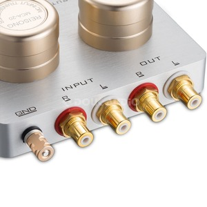Image 5 - Nobsound אודיו צעד למעלה שנאי MC נע סליל Phono במה מחסנית Preamp פסיבי עבור טלפון מחשב/CD נגן/ MC Phono פטיפון