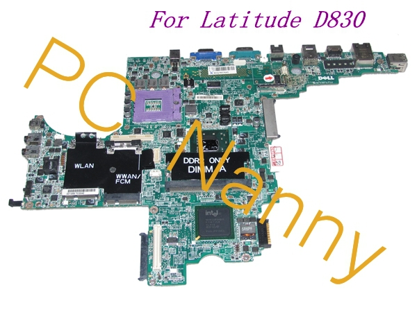 ORIGINAL For Dell Latitude D830 Laptop Intel Motherboard S478 gm965 INTEGRATED p/n:0MY199 MY199 DA0JM7MB8E0