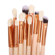ACEVIVI Professional 12pcs Makeup Brushes Rose Gold Cosmetic Powder Brush Contour High-light Eyebrow Eyeshadow Make-up Set  %5k