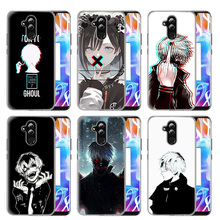 Case Cover For Huawei Honor P20 lite Mate 20 10 P30 P10 P9 P8 8X 9 Lite Pro P Smart + Plus 2019 Nova 3i Tokyo Phone Ghoul Anime phone cases for huawei p20 p10 p9 p8 lite pro 2017 nova 3i 3e 3 p smart plus mate 20 pro honor view 20 v10 10 v9 9 8 lite 6x 6a