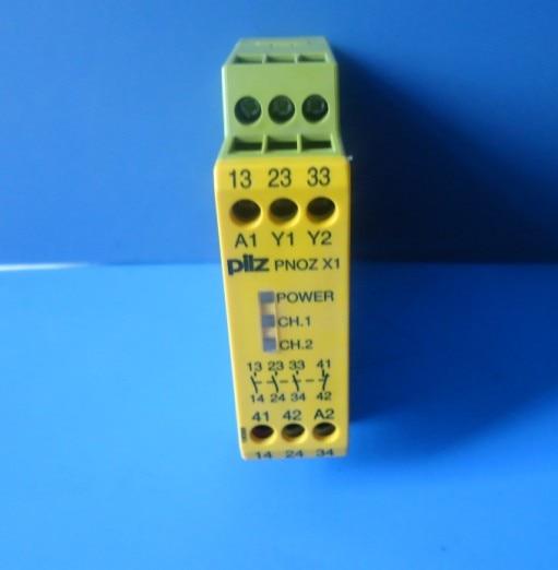 Safety relay pnoz x1 774300 new pilz safety relays pnoz x3 24vac 24vdc 3n o 1n c 1so spot