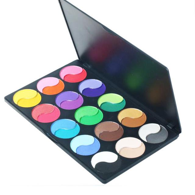 Natural especial Beleza Paleta de Maquiagem Profissional 30 Cor Fosca Sombra conjunto de Maquiagem Cosméticos Paleta Da Sombra do Olho Nu