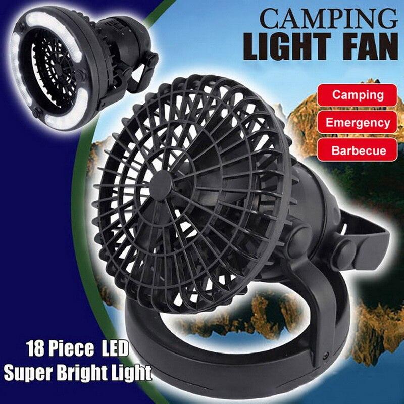 1 Pcs 2 In 1 Tragbare Camping-fan Licht Super Helle Decke Fan Lichter Faltbare Tragbare Laternen Wasserdichte Hängen Taschenlampe Elegant Und Anmutig