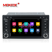 MEKEDE 2 din 200*100mm Car DVD player GPS for Toyota Hilux VIOS Camry Corolla BT Radio Touch Screen car aduio+Stereo Video