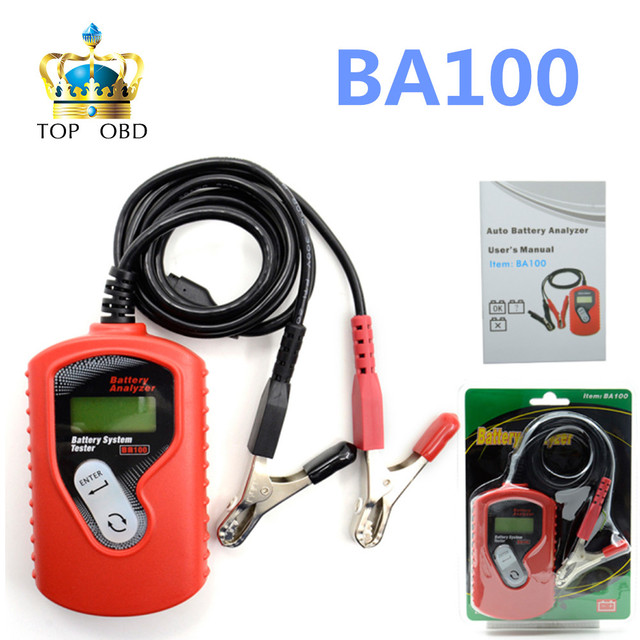 Quicklynks BA100 Auto Motive Battery Analyzer Battery Tester Ba100 Battery Checker Vehicle12v Digital For All Cars Data Analyzer