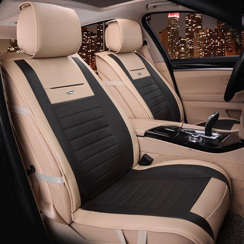 Siège de voiture plein cuir grand siège coussin nouvelle voiture siège housse coussin fabricants en gros quatre saisons - 3