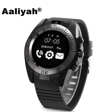 ФОТО aaliyah bluetooth smart watch sw007 support sim tf card camera men relojes smartwatch relogios for samsung huawei android phone