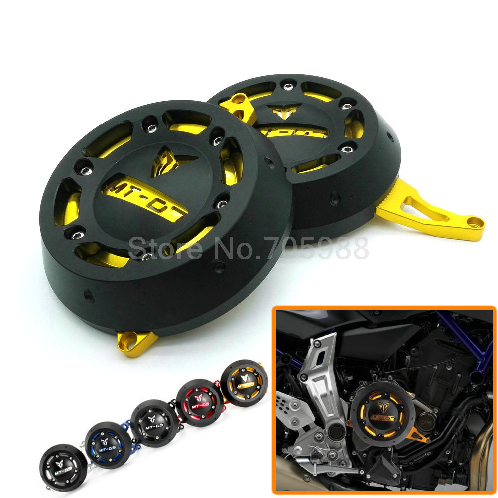 Motorcycle Engine Stator Case Cover Engine Protective Cover Protector For YAMAHA MT-07 MT07 FZ-07 FZ07 5 Colors alconstar motorcycle mt07 engine stator case cover engine protective cover protector case for yamaha mt 07 mt07 fz07 2014 2016