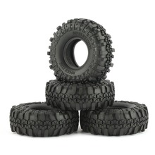 4Pcs AUSTAR AX-4020 110mm 1.9 Inch  1/10 Rock Crawler Tires for D90 SCX10 AXIAL RC4WD TF2 RC Car