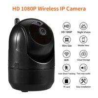 WiFi Wireless Fish Eye IP Camera HD 720P Video Security Panoramic 355 Degree Webcam Home Intercom Two Way Audio Baby Monitor
