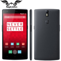 100 Original OnePlus One Cell Phone 5 5 1080P Android 5 1 Phone Octa Core Snapdragon