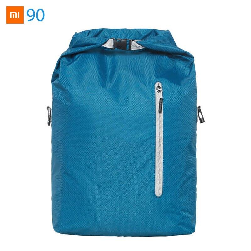 Videospiele Taschen Neue Mode Xiaomi Mijia Youpin 90 S Mode Wilden Sport Folding Tasche Reise Business Freizeit Rucksack 415 285*105*535mm 215g