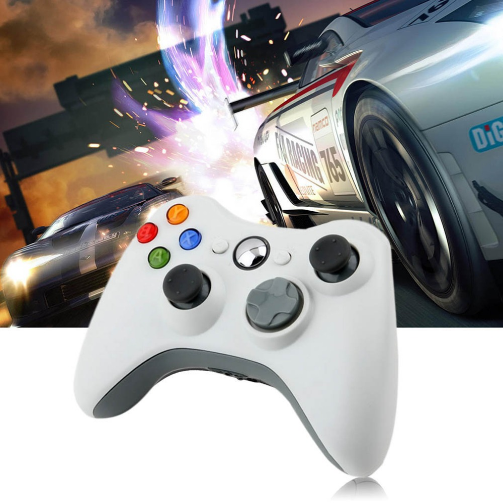 USB Wired Joypad Gamepad Controller Shoulders Buttons Improved Ergonomic Design For Microsoft For Xbox 360 PC For Windows 7