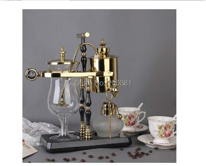 New  Royal belgium coffee maker/balancing siphon coffee maker/Balancing syphon coffee maker pot,450ml Vacuum Coffee Brewer hot sale 5cups syphon technica coffee maker vacuum coffee pot siphon coffee maker coffee pot with high quality and great price
