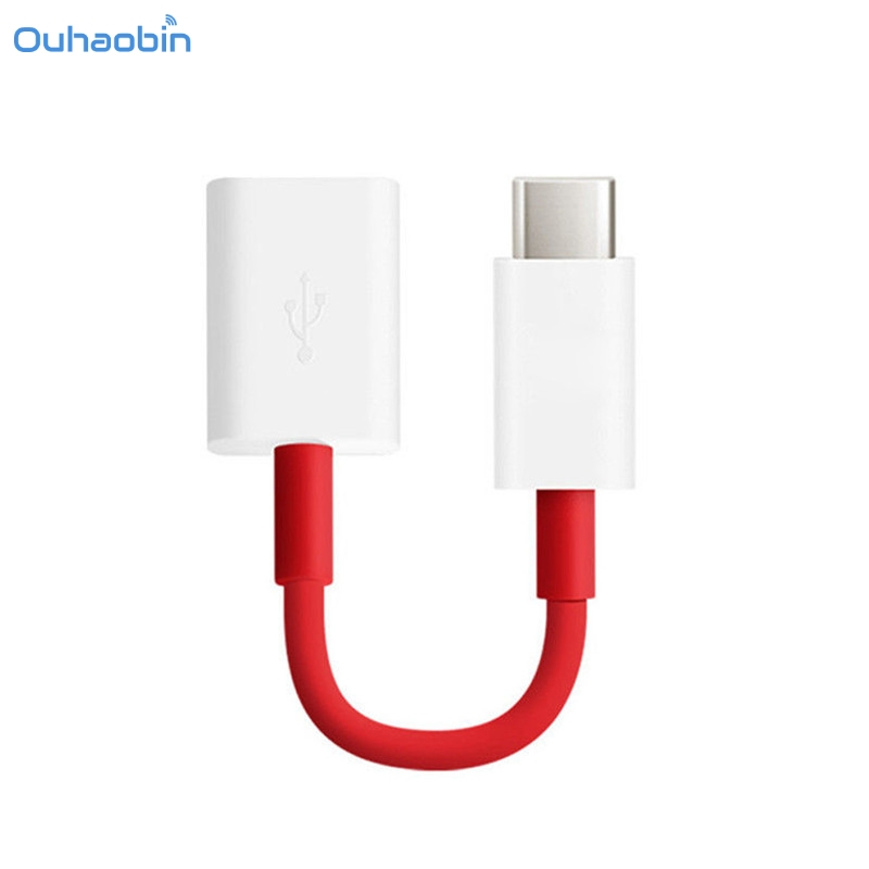Ouhaobin Cell Phone Type C Otg Cable For Oneplus 5 3t 3
