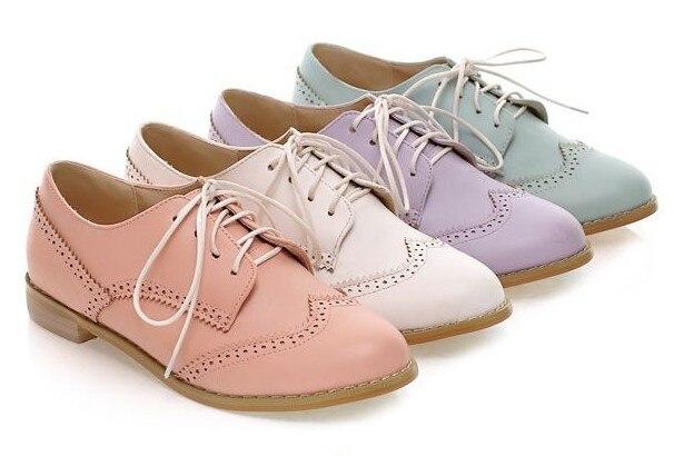 Women S Cutout Oxford Shoes