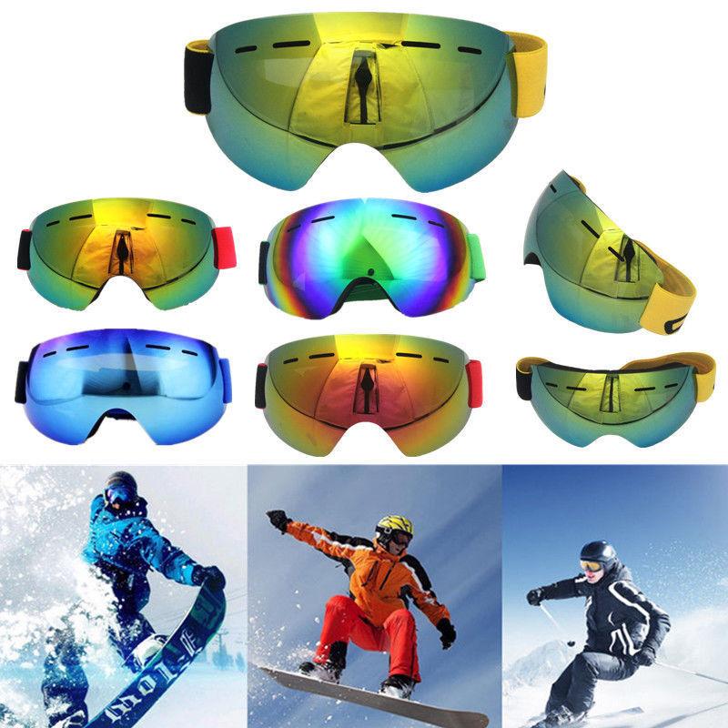 Triclicks Motorcycle Motocross Gear Goggles Protective Flexible Anti-fog Ski Goggles Snow Snowboard Glasses Skiing Bike Glasses