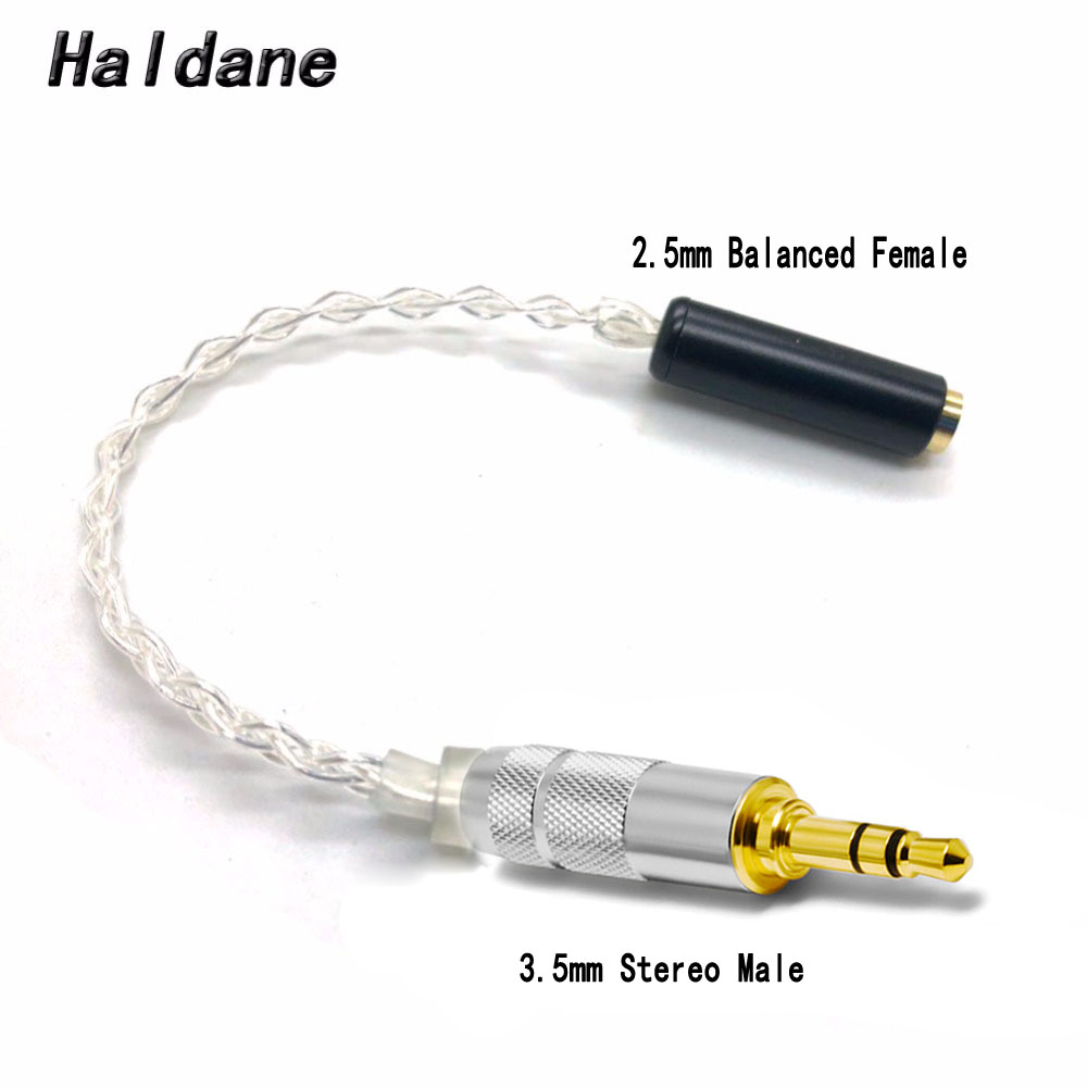 balance 2.5mm TRRS To 2 RCA Audio Cable Stereo Copper Wire