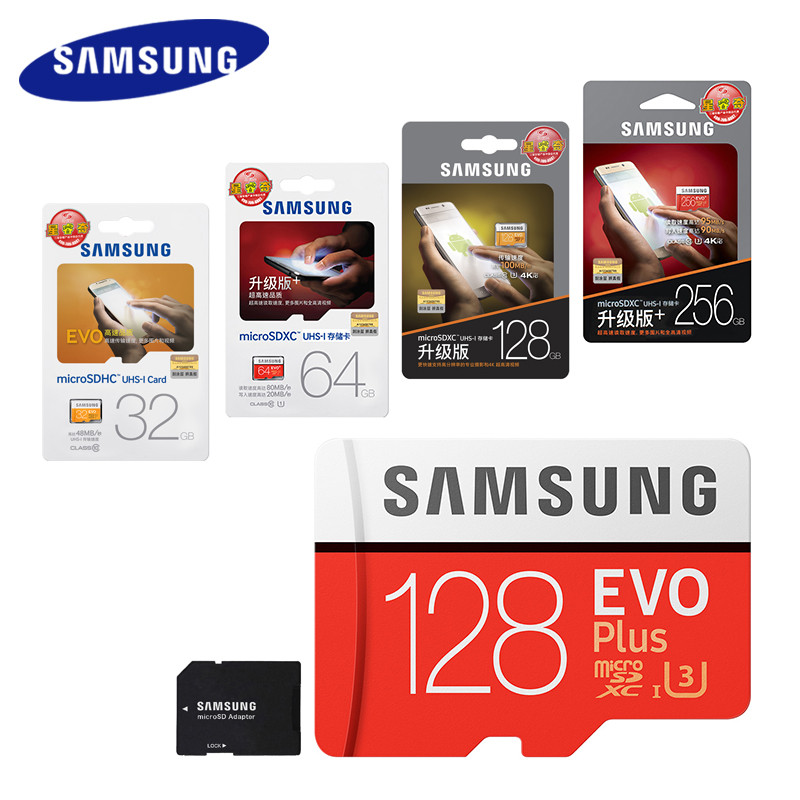 SAMSUNG Micro SD Card 128GB 64gb 32gb 256gb 100Mb/s Memory Card Class10 U3 Flash TF Microsd Card for Phone with Mini SDHC SDXC best selling memory card 128gb 64gb micro sd card flash cards 8gb 16gb 32gb micro sdhc sdxc microsd tf class10 memory card