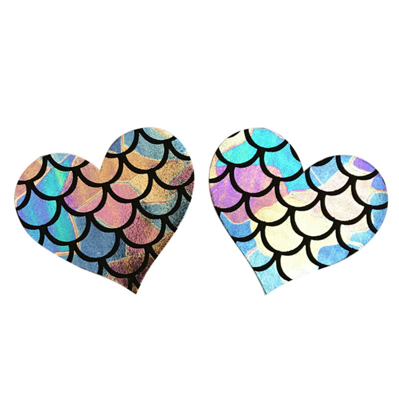 5Pair Disposable Charm Ladies Breast Meat Pads Stickers Star Heart Self-adhesive Nipples Sexy Lingerie Accessories