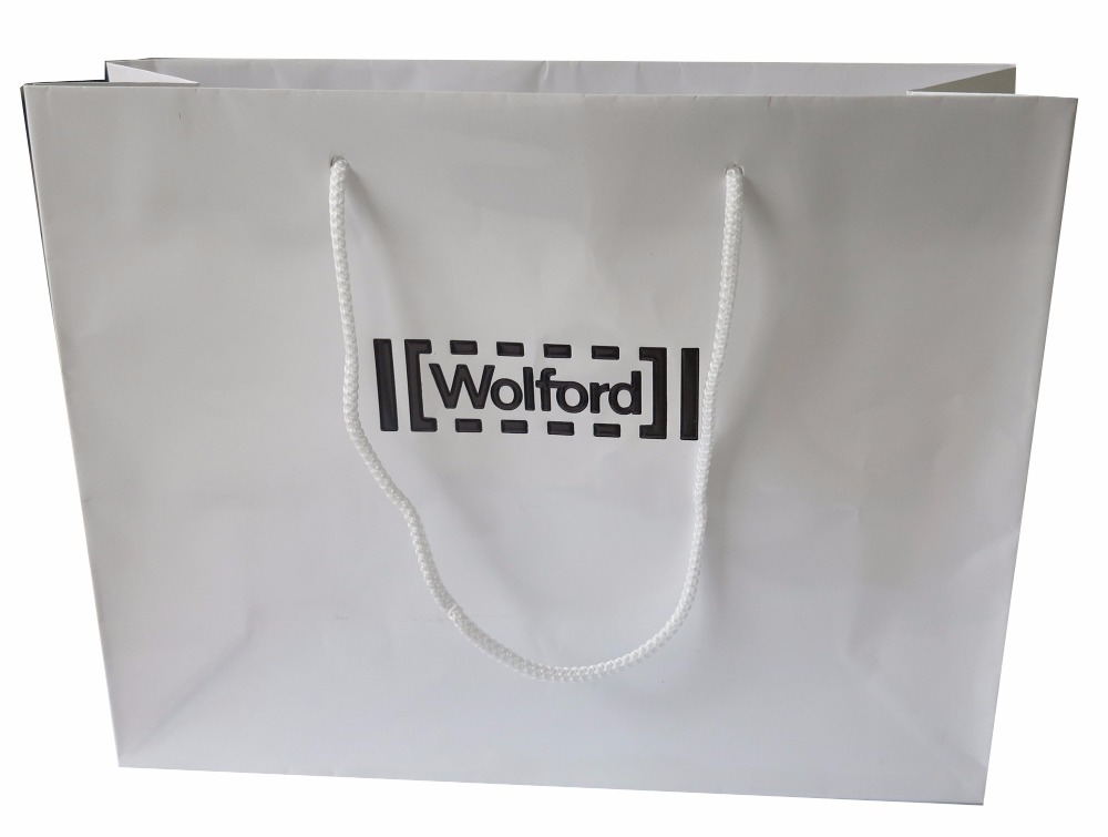 Customized High Quality matt/glossy 300gsm white board paper gift bags supply of quality white base burette 25ml a grade billable customized glassware