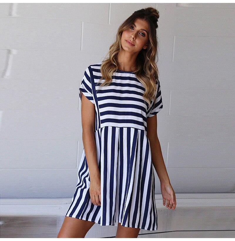 Loyal Elegant Lady Off Shoulder Boho Dress Women Summer Ruffles Peplum Beach Mini Dresses Sleeveless Casual Party Dress For Women #yl Volume Large Women's Clothing