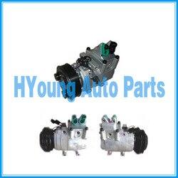 Powietrza auto ac sprężarka dla Hyundai H100 AU do ciężarówek Porter II 4PK 128mm HVCC/Doowon HS15 977014F100 97701-4F100