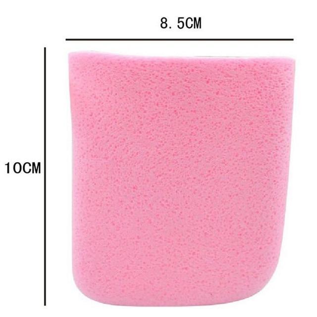 Makeup clean gloves cleaning algae beauty make-up face clean soft Sponge Facial Cleansing Pad Face Wash Sponge Skin Care Net