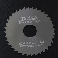 цена на 5Pcs 50mm Micro Saw Blade Thick 0.5mm to 3mm Tungsten Carbide Tipped Circular Saw Blade for Aluminum Wood Plastic Cutting