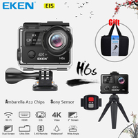 EKEN H6s 4K Utral HD 14MP With EIS Remote Sport Camcorder Ambarella A12 Chip Wifi 30m