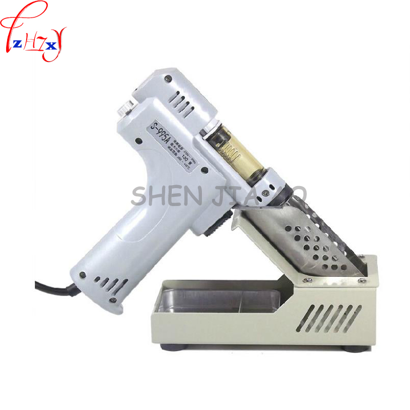 1 pc 110/220V  Electric absorb gun S-995A Electric Desoldering Hot Air Gun Desoldering Pump Soldering Iron electric absorb gun s 998p electric vacuum double pump solder sucker desoldering gun soldering iron 110 220v 100w
