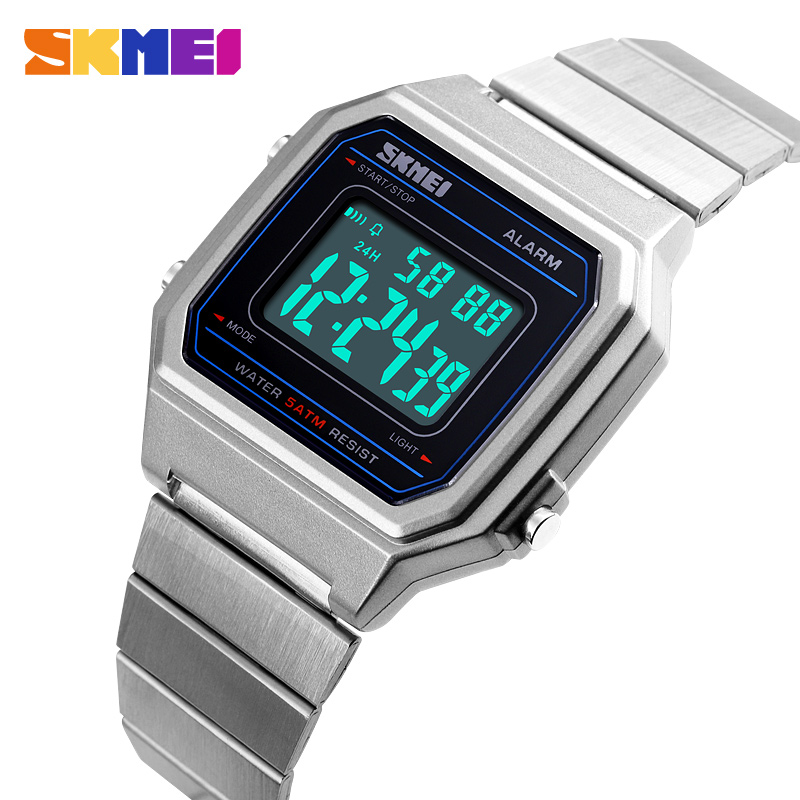 Watches Men Military Electronic Mens Sports Watches Top Brand Luxury Male Clock Waterproof LED Digital Watch Reloj Hombre SKMEI