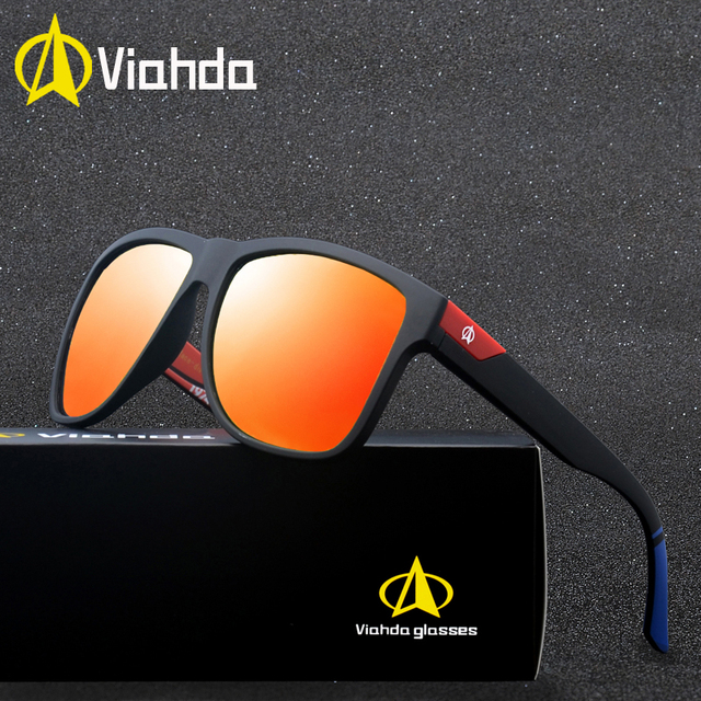 cafbd7e9ad9e Viahda new Sunglasses Men Vintage Mirror Goggles Sun Glasses For Women  Driving Eyewear gafas de sol