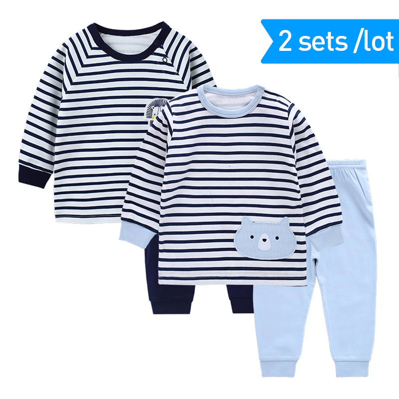 Spring Pyjama Baby Boy Children's   Pajamas     Set   Baby Pyjamas Cotton   Pajamas   Kids Boys   Pajamas   For Boys Pijama   Pajamas   For Girls