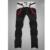 Otoño invierno de Corea Del Algodón Delgado Recto Hombre Gruesos Pantalones Casuales Elástico cinturón de Bolsillo de Parche Pantalones A Juego de Color
