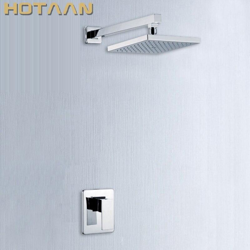 Brass Bathroom Shower Faucets Lanos Rain Shower Set Bath Mixer Wall Water Tap Torneira Chuveiro Banheiro Ducha Shower Hotels стоимость