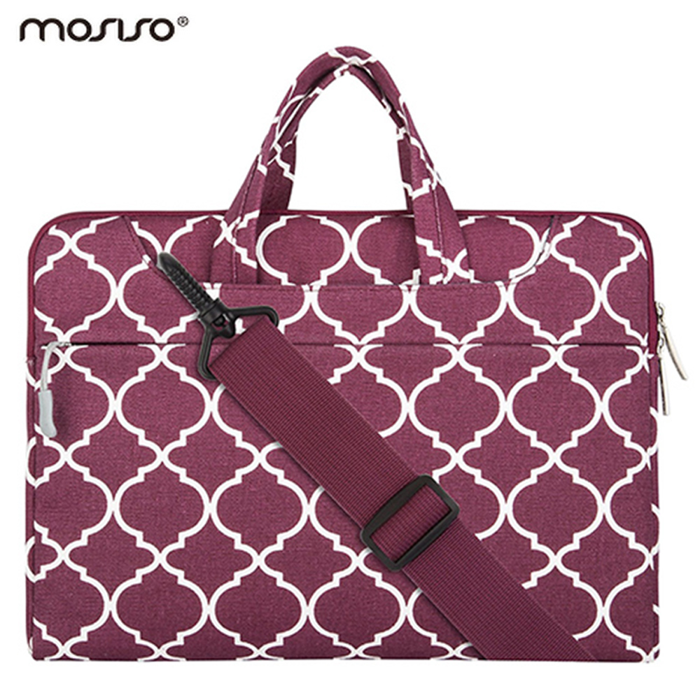 Mosiso Portable Men Women 14 inch Notebook Case Bag for Lenovo ThinkPad Dell Asus HP Samsung Laptop 14.6 inch