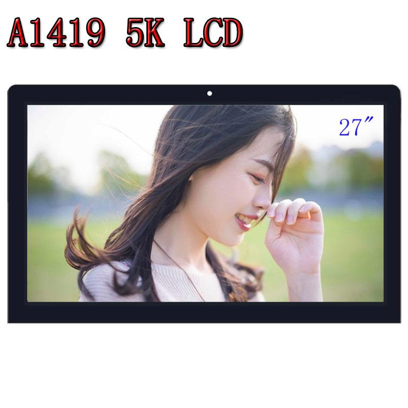 100% Nova original A1419 5 K LM270QQ1 SD C1 tela retina LCD com conjunto de Vidro 661-03255 Para iMac 27