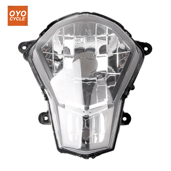 For KTM 12-15 DUKE 200 125 390 Motorcycle Front Headlight Head Light Lamp Headlamp Assembly CLEAR 2012 2013 2014 2015 image