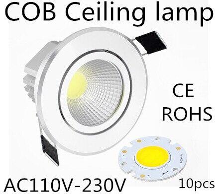 10 pcs 3 w 7 w 12 w 15 w teto downlight epistar led lampada