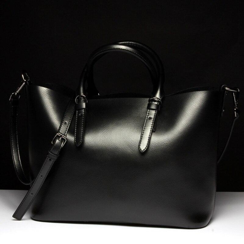 Genuine Leather Women Shoulder Bag 1