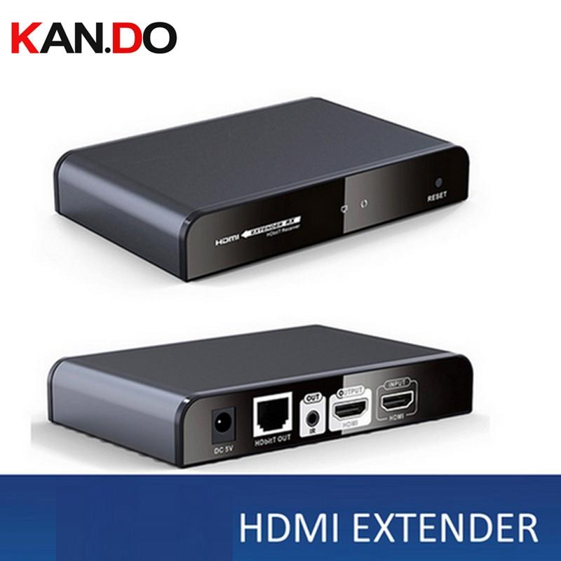 383Pro HDbitT HDMI Extender W/ HDMI Loop-out Transmitter Receiver 1080p 120m Transmission Video  Transmitter Wireless Adaptor