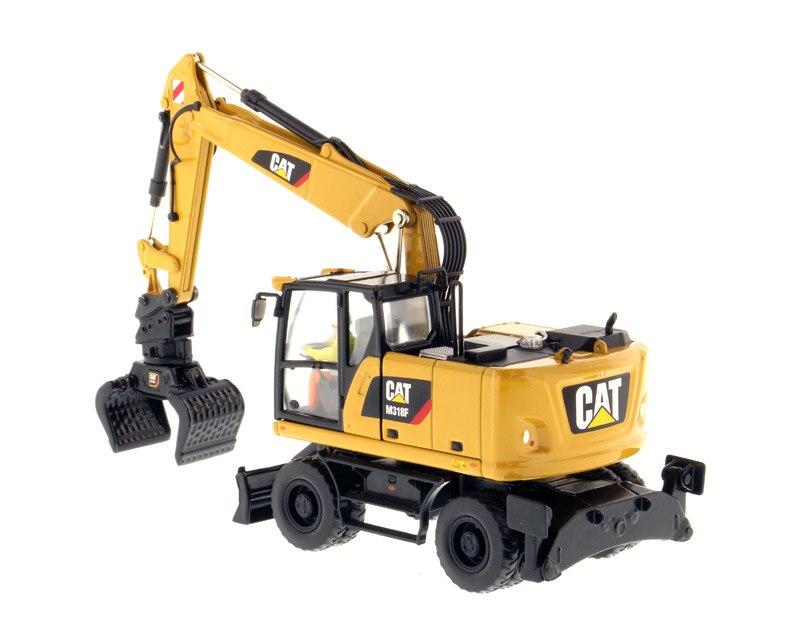 DM-85508 1:50 CAT M318F колесный экскаватор игрушка