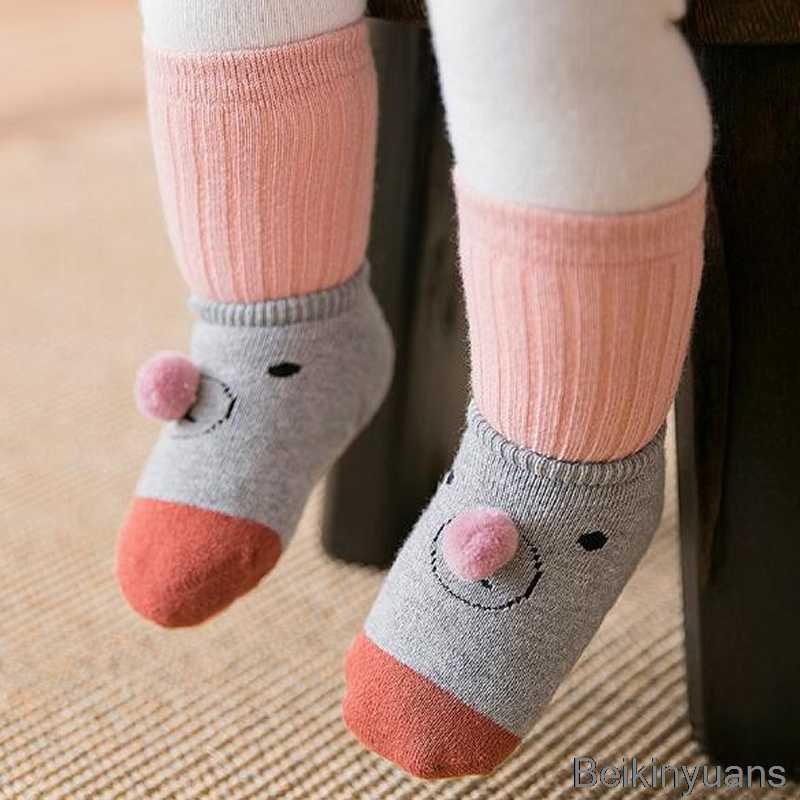 2018 Güz Kış Kalın Sıcak Bebek Kat Çorap Yürümeye Başlayan Kapalı Yürüteç ayakkabı Bebek kaymaz Pamuk Havlu Çorap Çorap çocuklar için