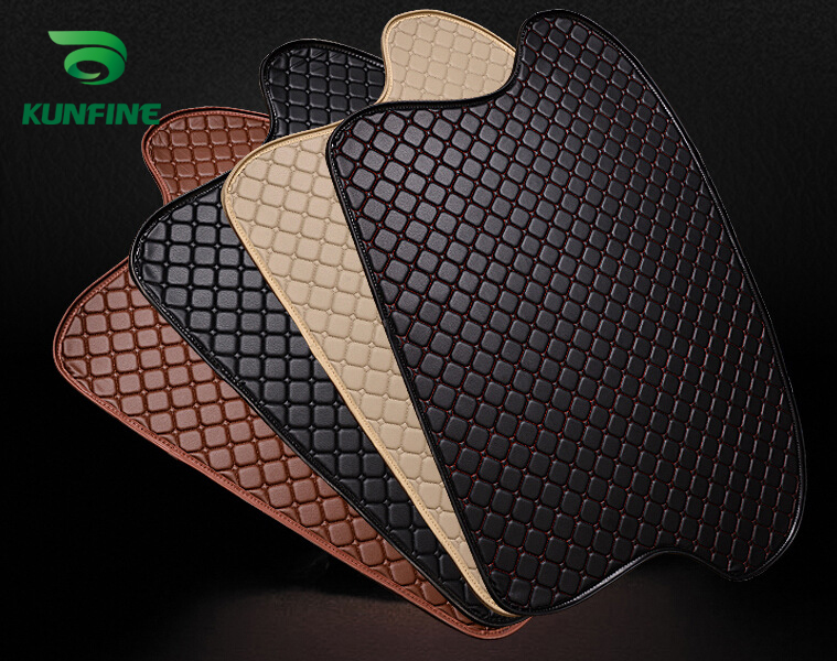 Car Styling Car Trunk Mats for Mazda 2 Trunk Liner Carpet Floor Mats Tray Cargo Liner Waterproof 4 Colors Opitional