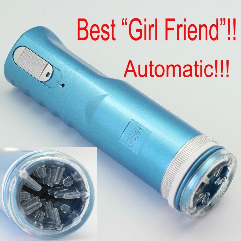 Синий Электрический Выдвижной Мужской мастурбатор киска чашка, Поршень полностью автоматическая секс машина, секс игрушки для мужчин, взро