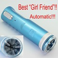 Blue Electric Retractable Male Masturbator Pussy Cup, Piston Fully-automatic Sex Machine, Sex toys for men, Adult Sex toys X-9A